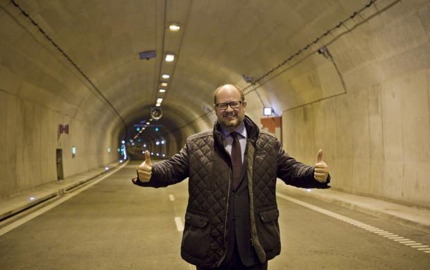 Zakończona w 2016 roku budowa tunelu pod Martwą Wisłą.