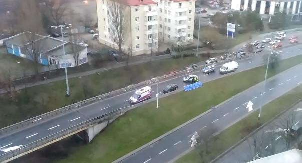 Do wypadku doszło w środę rano.