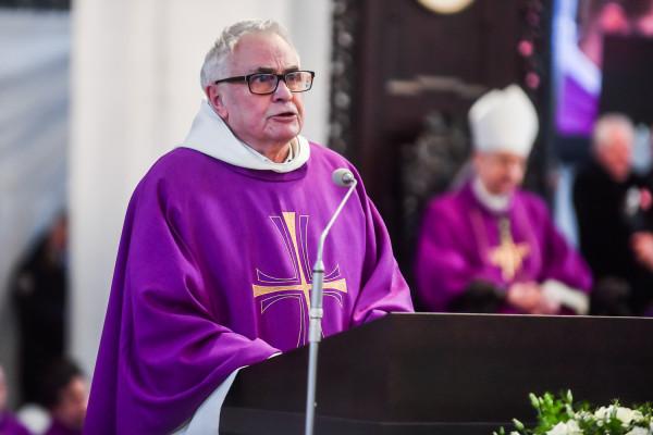Ojciec dominikanin Ludwik Wiśniewski.