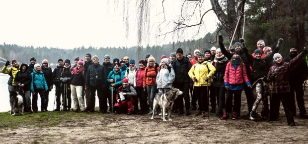 Zimowa wędrówka wśród jezior i mokradeł Nadleśnictwa Gdańsk