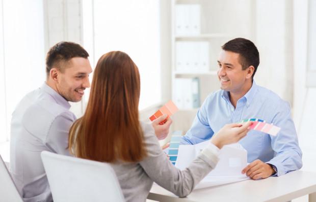 Firmy, które zajmują się kompleksowym wykończeniem wnętrz, zwykle najpierw przygotowują projekt.