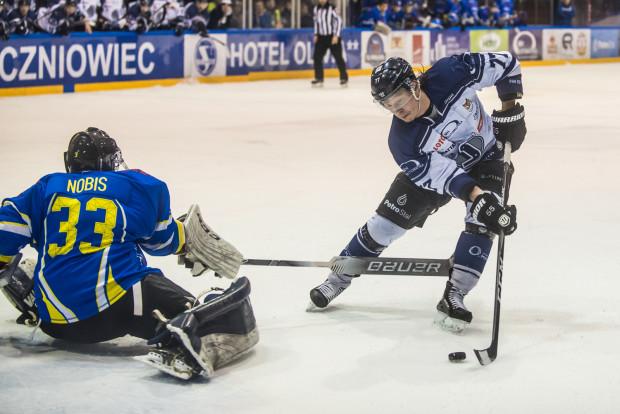 Petr Polodna i Aleksandr Gołowin strzelili Orlikowi po dwie bramki. Ten drugi (na zdjęciu) z nich zdobył pewnie wykorzystując rzut karny.