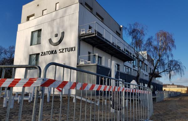 Według urzędników przedstawiciele spółki zarządzającej Zatoką Sztuki mają 30 dni na opuszczenie budynku.