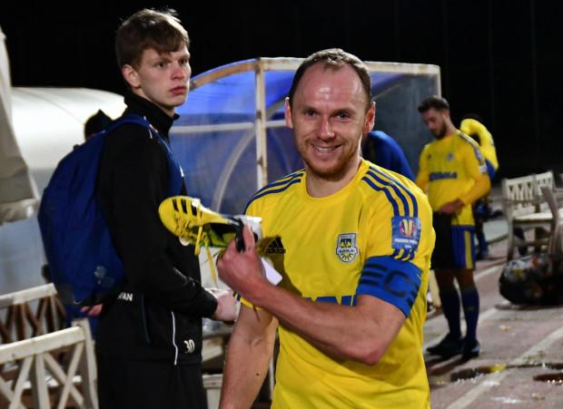 Rafał Siemaszko kończy tureckiego zgrupowanie z czterema golami w sparingach. Jest najskuteczniejszym piłkarzem Arki Gdynia w Turcji. Czy wiosną w ekstraklasie żółty but zamieni na złoty?