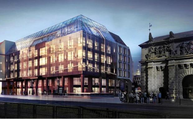 Ten projekt wygrał konkurs architektoniczny na budynek, który powstanie w miejsce dzisiejszego LOT-u. Już wiadomo, że zostanie on mocno zmodyfikowany.