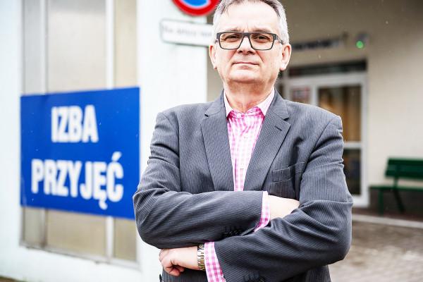 Dr n. med. Leszek Trojanowski, dyrektor naczelny Wojewódzkiego Szpitala Psychiatrycznego im. prof. T. Bilikiewicza w Gdańsku.