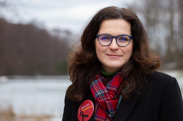 Aleksandra Dulkiewicz do niedawna pierwszy zastępca, obecnie pełniąca obowiązki a także kandydatka na prezydenta Gdańska.