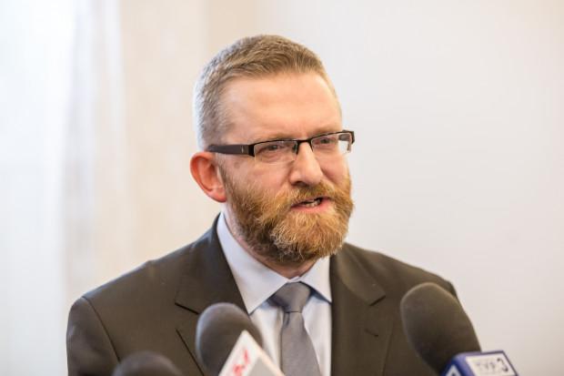 Grzegorz Braun na konferencji prasowej 7 lutego zaprezentował swój program i przyczyny startu w wyborach na prezydenta Gdańska.