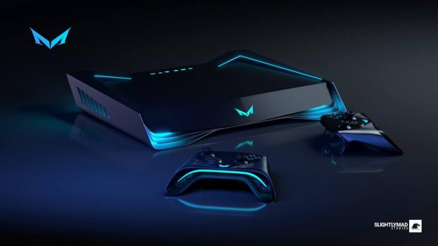 Projekt Mad Boxa prezentuje się futurystycznie.