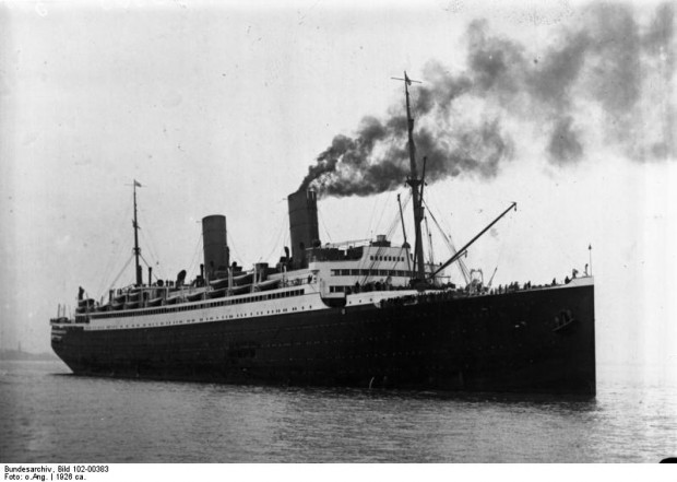 Zaprojektowany i zbudowany w stoczni Schichaua w Gdańsku transatlantyk Columbus, został zatopiony przez własną załogę w grudniu 1939 r.