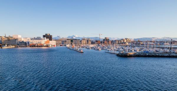 Norweskie Bodø za kołem podbiegunowym to kolejne miejsce na dalekiej północy Europy, do którego będzie można dolecieć z Gdańska.