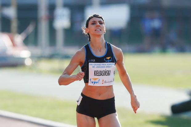 Anna Kiełbasińska pobiegnie podczas HME w sztafecie 4x400 metrów.