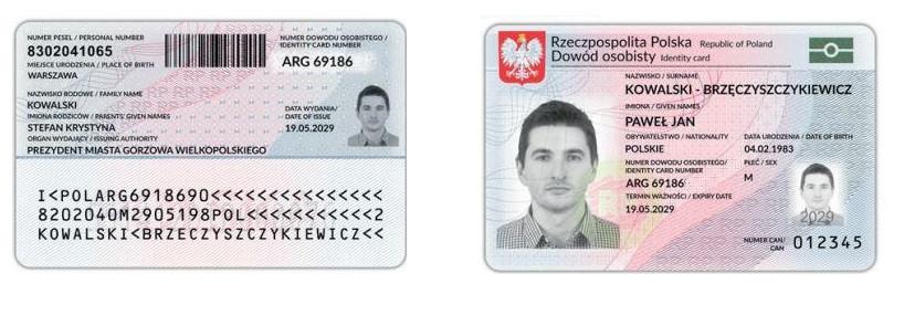 В Польше внедряют новые 'электронные' паспорта