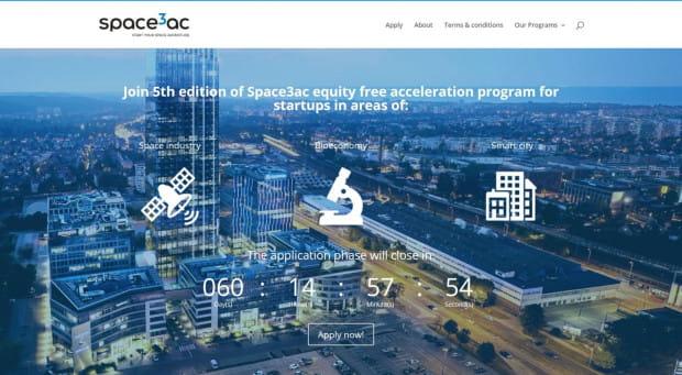 Program akceleracyjny Space3ac łączy duże firmy i startupy technologiczne dostarczające im innowacyjne rozwiązania.