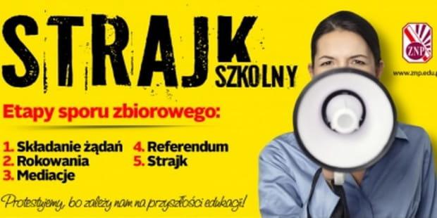 8 kwietnia rozpocznie się strajk w szkołach i innych placówkach oświatowych.