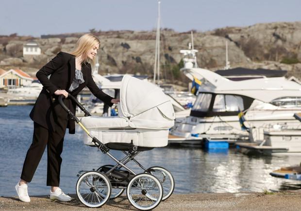 Klasyka na kołach - wózek Emmaljunga Mondial.