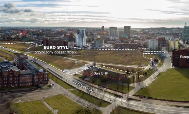 Na zakupionym terenie inwestor planuje wybudować budynki od 16 do 30 m wysokości.
