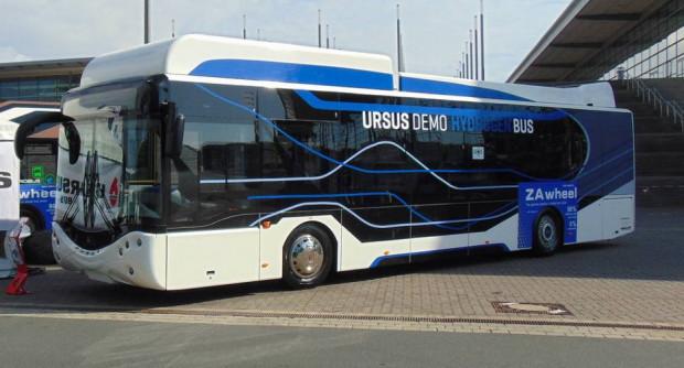 Jednym z producentów autobusów wodorowych jest polska firma Ursus.