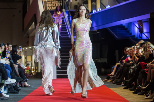 Kolejną atrakcją wieczoru był pokaz mody Karoliny Kalskiej.