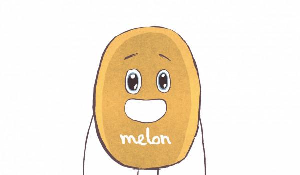 Melon to bohater komiksu, który osobiście odwiedził naszą redakcję.