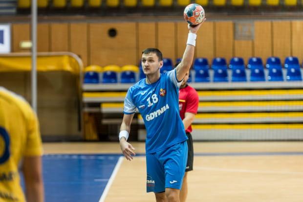 Rafał Jamioł zdobył w Kaliszu 5 z 16 bramek Arki.