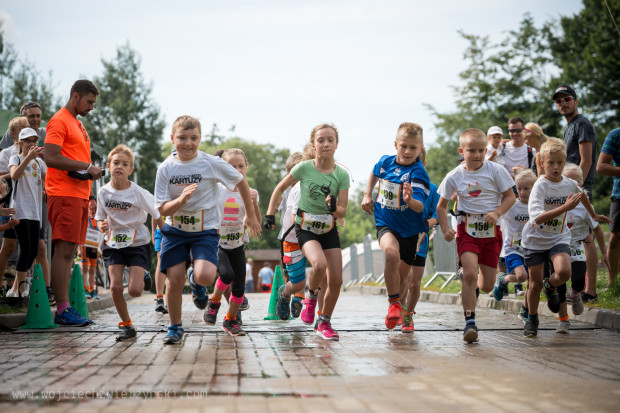 Aquathlon dla dzieci odbędzie się w ramach majowego triathlonu.