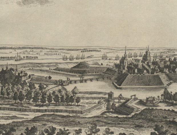 Gdańsk, okolice Bramy św. Jakuba.