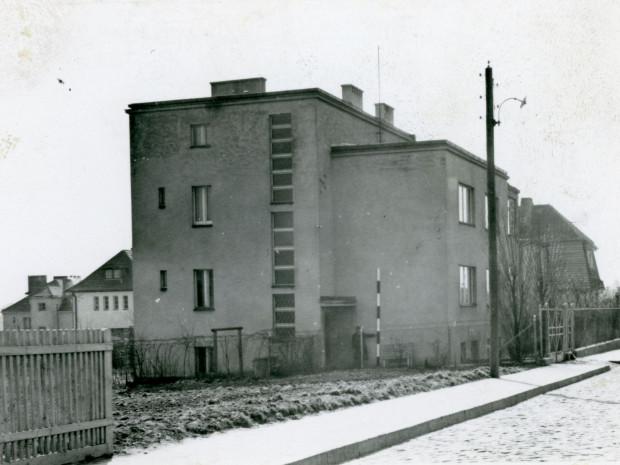 Dom Augustyna Krauzego przy ul. Klonowej 11 w Orłowie. Zdjęcie z lat 1940-1942. Ze zbiorów muzeum Miasta Gdyni