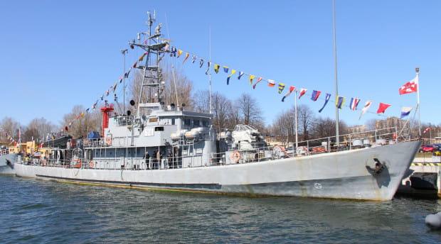 Niszczyciel min ORP Flaming wszedł do służby w 1966 r.