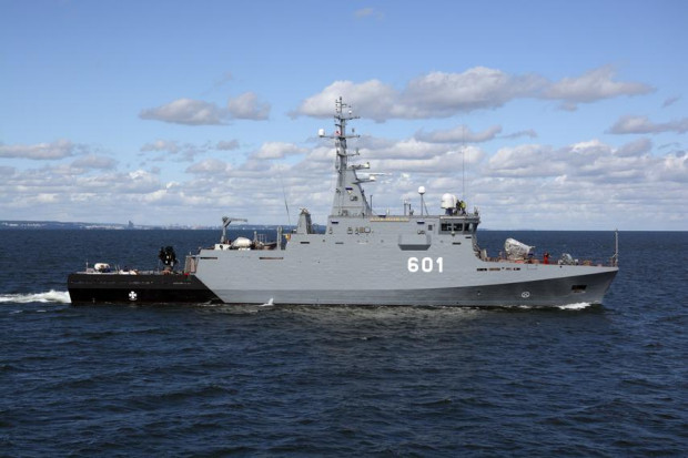 ORP Kormoran to jedyny nowoczesny okręt w polskiej Marynarce Wojennej. Wszedł do służby jesienią 2017 r.