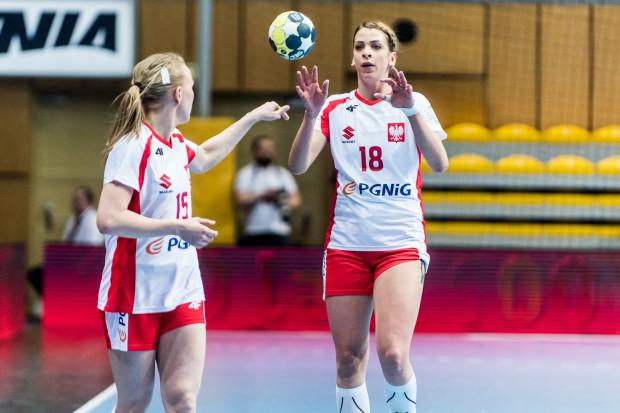 Choć w Trójmieście nie mamy już żeńskiego zespołu piłki ręcznej na najwyższym poziomie, w reprezentacji Polski grają zawodniczki, które jeszcze niedawno zdobywały dla nas ligowe punkty. Na zdjęciu Katarzyna Janiszewska i Aleksandra Zych.