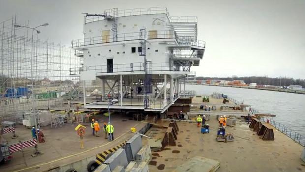 Mostostal Pomorze wykonał już kilka specjalistycznych trafostacji dla branży offshore. Kolejną przekaże klientowi na początku kwietnia.