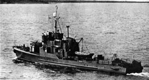 """Jeden z """"ptaszków"""" podczas służby w marynarce wojennej PRL."""