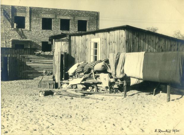 Dzielnica chińska w Gdyni. Fot. Ernest Raulin. Zdjęcie z 1930 r. Ze zbiorów Muzeum Miasta Gdyni.