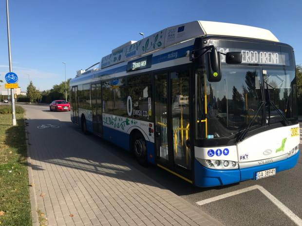 Dzięki możliwości korzystania z baterii poza trakcją trolejbusy już od kilku miesięcy jeżdżą na innej sopockiej trasie - do Ergo Areny.