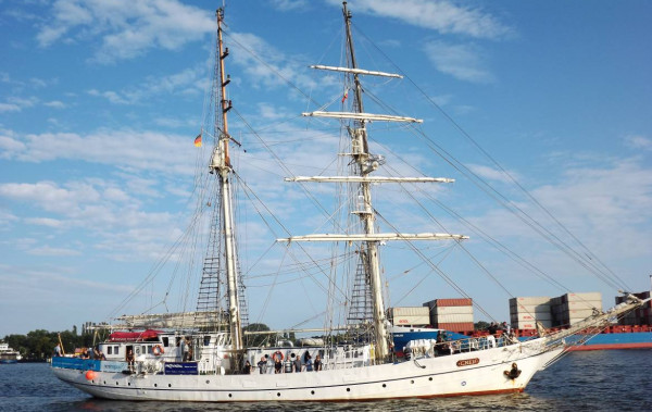 Greif przypłynie na Baltic Sail Gdańsk.