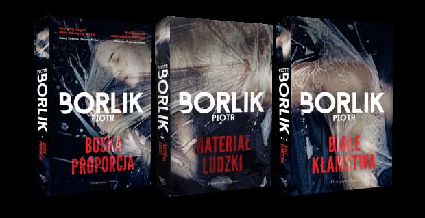 """""""Boska proporcja"""" (wyd. Prószyński i S-ka) to pierwszy tom zapowiadanej trylogii. Kolejne części ukażą się jeszcze w tym roku: """"Materiał ludzki"""" i """"Białe kłamstwa""""."""