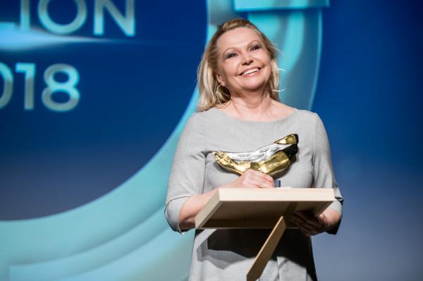 Nagroda za całokształt artystyczny - Dorota Lulka, aktorka związana z Teatrem Miejskim w Gdyni.