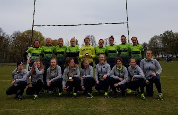 Biało-Zielone Ladies wystawiły dwie drużyny i obie zanotowały komplet zwycięstw.