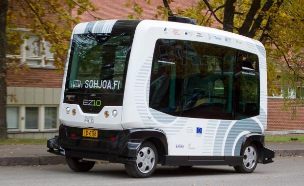Podobnym pojazdem autonomicznym będzie się można wkrótce przejechać między ul. Spacerową a zoo.