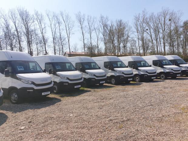 Sprzedaż firmy Iveco TNC skupia się przede wszystkim na modelu Daily.