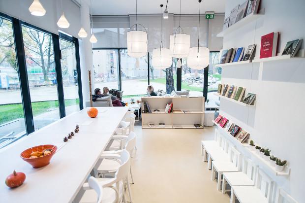 Sztuka Wyboru to połączenie kawiarni z księgarnią.