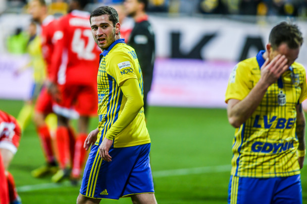 Luka Zarandia i Michał Janota, do niedawna liderzy Arki Gdynia, w ostatnim czasie zmagają się z kłopotami zdrowotnymi.