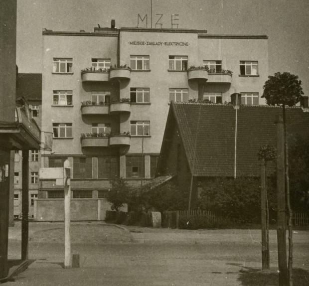 Siedziba MZE w 1935 r. Ze zbiorów Muzeum Miasta Gdyni.