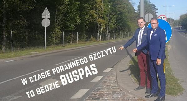 Planowaną inwestycją wiceprezydent Marek Łucyk i radny Jakub Ubych pochwalili się na Facebooku.