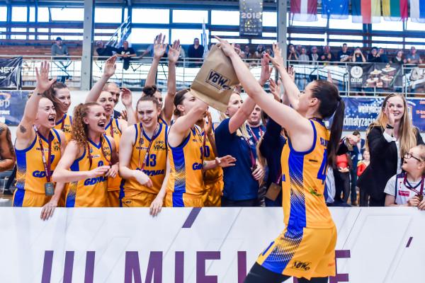 Barbora Balintova otrzymała od was najwyższą średnią not wśród koszykarek Arki Gdynia w sezonie 2018/19 i tym samym do brązowego medalu w lidze dołożyła tytuł Ligowca Kwietnia.