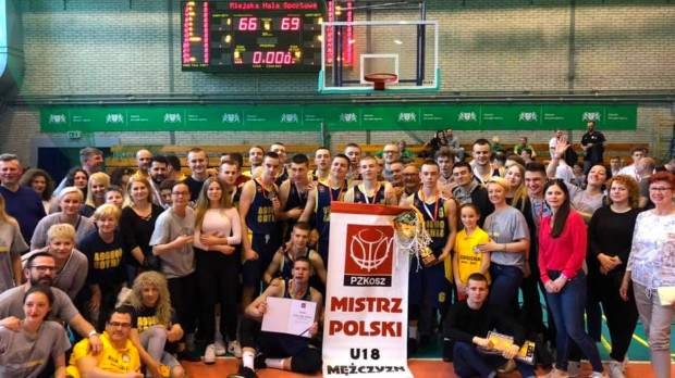 Koszykarze Asseco Arki Gdynia zdobyli złoty medal mistrzostw Polski U-18.