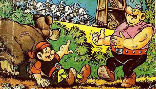 Sopocianie sami mogą wybrać, gdzie stanie ławeczka, na której zasiądą sympatyczni bohaterowie komiksu.