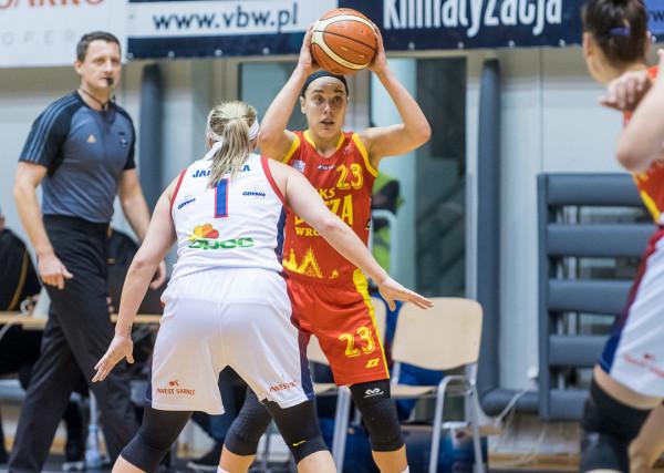 Marissa Kastanek (numer 23) to pierwsze letnie wzmocnienie Arki Gdynia.