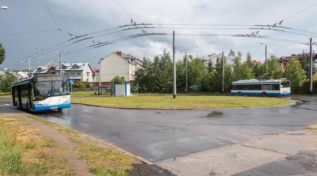 Pętla Dąbrowa Miętowa to jedna z lokalizacji, gdzie będą wykonane nowe przystanki.